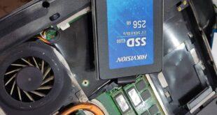 نصب درایو SSD روی لپتاپ قدیمی Acer Aspire 4710